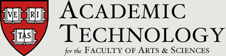 Academic Technology for FAS
