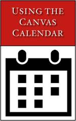 Using the Canvas Calendar
